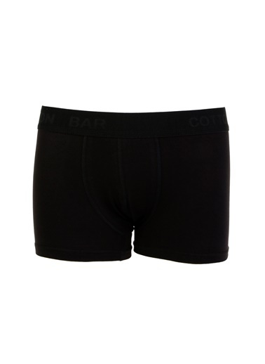 Cotton Bar Boxer Siyah